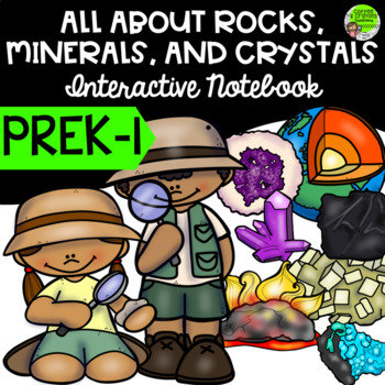 Geology Interactive Notebook on Rocks, Minerals, Crystals and the Rock Cycle