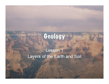 Geology Power Point