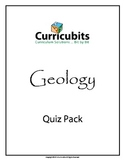 Geology Quiz Bundle | Themed Scripted Afterschool Activities