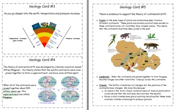 Geology Quiz Study Guide