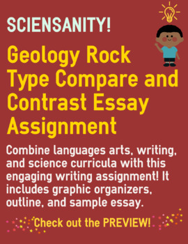 Geology Rock Type Compare and Contrast Essay
