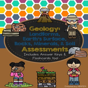 Geology: Rocks, Minerals, Soil & Earth's Surface Assessments