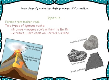Geology -Rocks and Minerals- Milestone Review