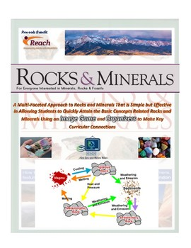 Geology: Rock and Mineral Organizers and READING Comprehension