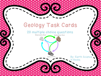 Geology Task Cards