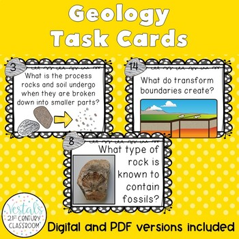 Kids love task cards, and these geology task cards are featured in this round up blog post for SOL 5.7. Visit the post for lots of FREE resources, teaching tips, and unit ideas to make planning easy and learning fun.