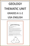 Geology Thematic Unit For Grades 2-3
