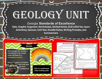 Geology Unit Bundle