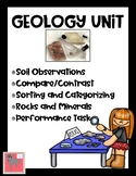 Geology Unit NGSS ESS2: Rocks, Minerals, Soil, Inquiry--Updated!