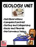 Geology Unit Plan: Rocks, Minerals, Soil, Inquiry--Updated!
