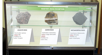 Geology - Virtual Rock Exhibition