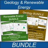 Geology and Renewable Energy Science BUNDLE