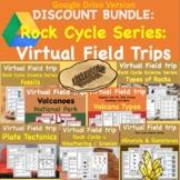 Geology and Rock Cycle Virtual Field Trip discount Bundle digital