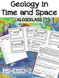 Geology in Time and Space MS-ESS2-2