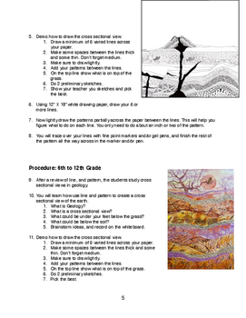 Geology is Art - Visual Art Lessons 1st - 12th Geade