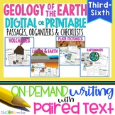 Geology of Earth Paired Texts Bundle: Writing Informationa