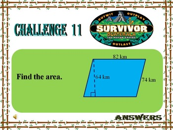 Geom-- Review of Area (Survivor)