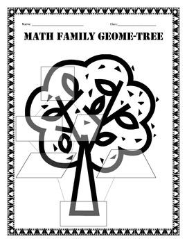 Geometry: Geome-Tree Activity