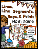 Geomentry Game - Lines, Line Segments, Rays, & Points - Anchor Charts Included