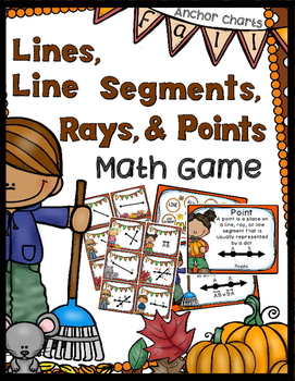 Geomentry Game - Lines, Line Segments, Rays, & Points - An