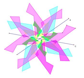 Geometer's Sketchpad Kaleidoscope