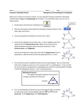 Geometer's Sketchpad Activities