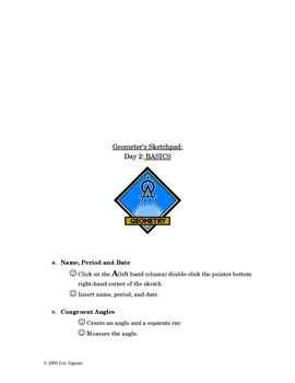 Geometer's Sketchpad - Introduction Step-by-Step