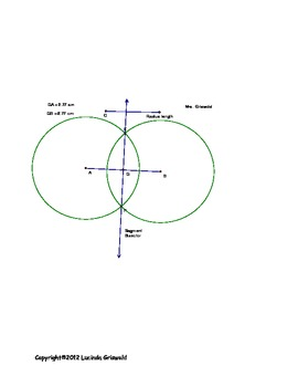 Geometer's Sketchpad Introduction and Perpendicular Bisector Construction