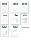 Geometic Solids Matching Game