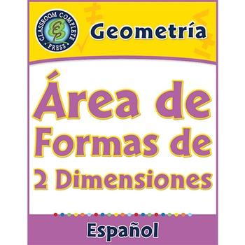 Geometría: Área de Formas de 2 Dimensiones Gr. 6-8