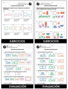 Geometría: Composición de figuras geométricas Gr. PK-2