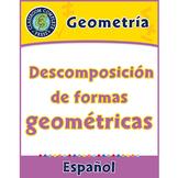 Geometría: Descomposición de formas geométricas Gr. PK-2