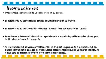 Geometria Medicion Tarjetas de Vocabulario Espanol Matematicas 4 Grado STAAR