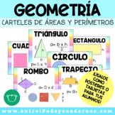 Geometría: áreas y perímetros de figuras.