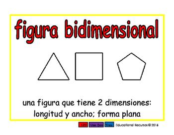 Geometria espanol 2-way rojo