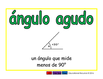 Geometria espanol 2-way verde