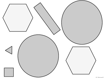 100th Day of School Geometric Activity 2D Shapes