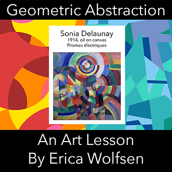 Geometric Abstraction after Sonia Delaunay