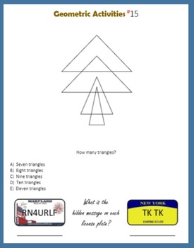 Geometric Activities for the Gifted and Talented