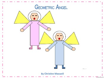 Geometric Angel 2D Shapes