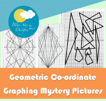 Geometric Coordinate Graphing Pictures
