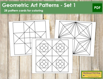 Geometric Art Patterns - Set 1