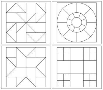 Geometric Art Patterns - Set 2