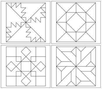 Geometric Art Patterns - Set 3