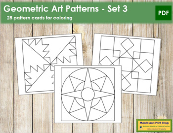 Geometric Art Patterns - Set 3