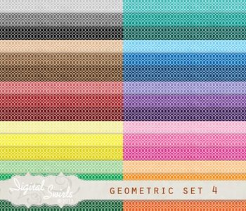 Geometric Background Set 4