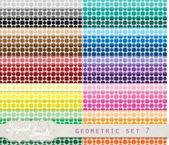 Geometric Background Set 7