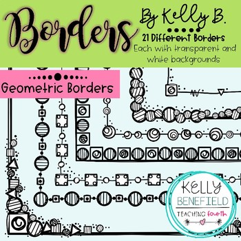 Geometric Borders by Kelly Benefield
