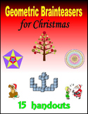 Geometric Brainteasers for Christmas