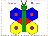 Geometric Butterfly 2D Shapes